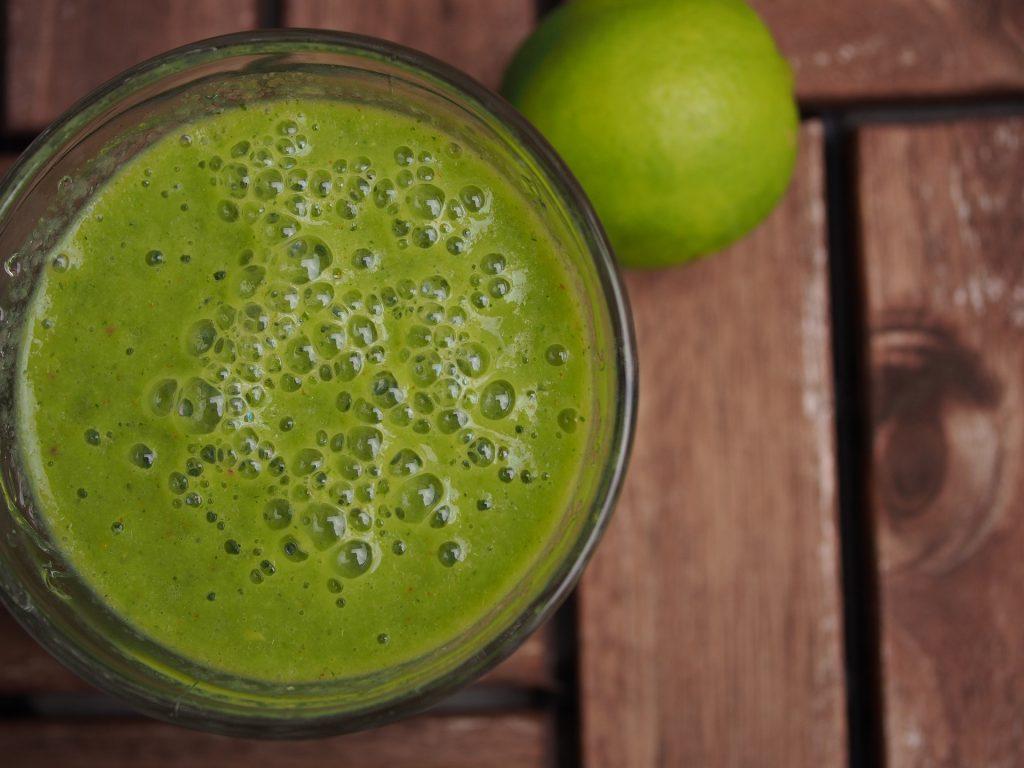 lunchen zonder brood groene smoothie recept